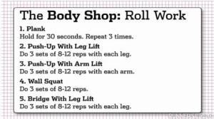 foam roll workout